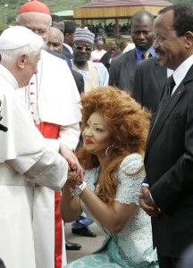 The Pope first visit to the Thunderdome