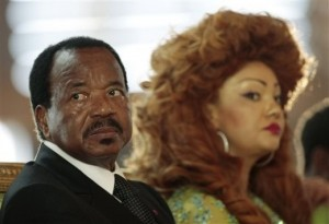 President of Cameroon wonders if his wife is a dude