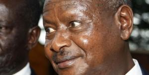 "Uganda President Yoweri ""Cocaine Eyes"" Kaguta"