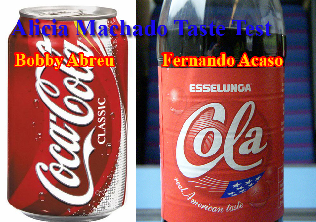 Results are in: She prefers the Real American Taste of Esselunga Cola