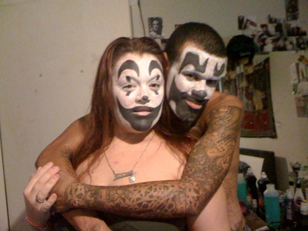 juggalo family my aunt and my uncle...by kayla