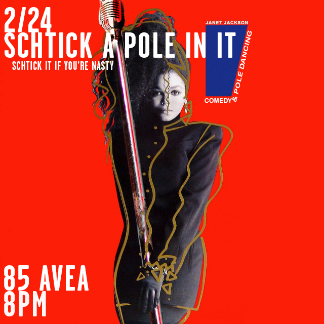 Schtick A Pole In It: Janet Jackson Edition