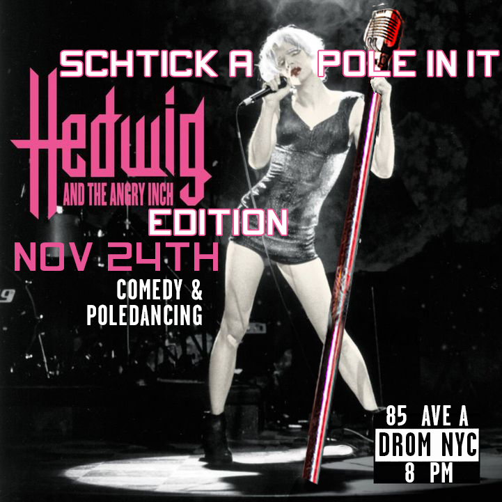 Schtick A Pole In It: Broadway Edition