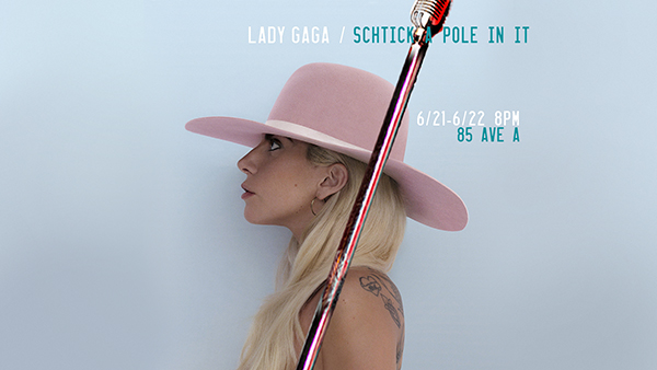 Gaga on the Pole