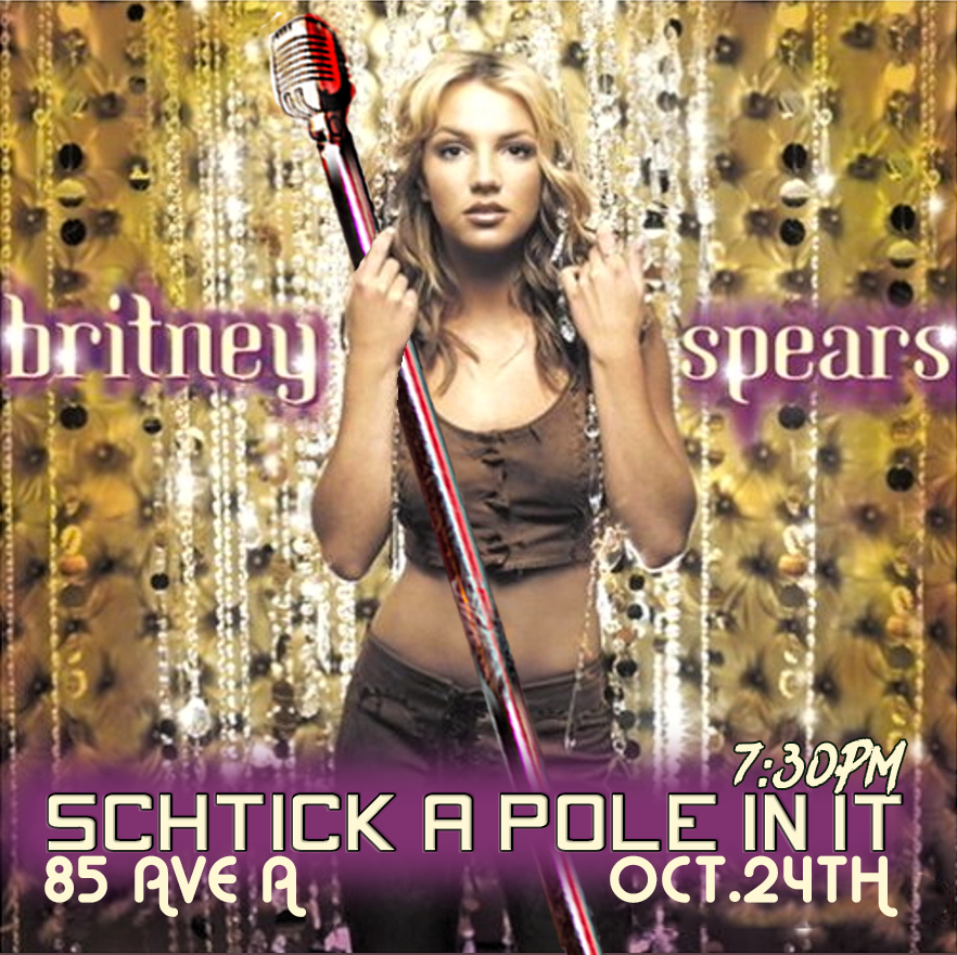 Schtick A Pole In It Britney